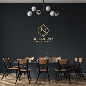 Logo 3D do kancelarii notarialnej