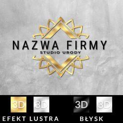 Studio urody - logotyp 3d